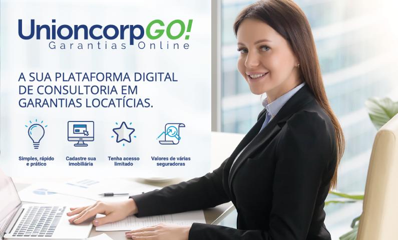 Unioncorp Go chega para simplificar a contratação do seguro fiança